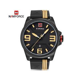 4f3eda8dc81 Relogios Masculinos Pulseira De Borracha Naviforce - Relógios no ...