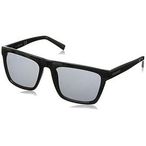 Calvin Klein Homens R737s Quadrado Óculos De Sol, Preto, 57