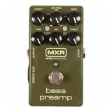 Pedal Efecto Bajo Eléctrico Mxr M81 Bass Preamp