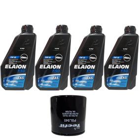 Troca Óleo Elaion F50 5w40+ Filtro Vw Up 1.0 3cil Up Tsi