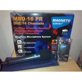 Microfono Inalambrico Magneto Sonora Msd 16 Pr