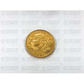 Moneda De Oro 22 Kts. 20 Francos Suizos *joyeriaeltasador*