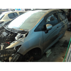 Honda Fit Dx 2015 (((( Sucata )))) Motor , Cambio E Lataria