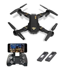 Drone Visuo Xs809hw Câmera Hd Fpv + 1 Bateria Extra