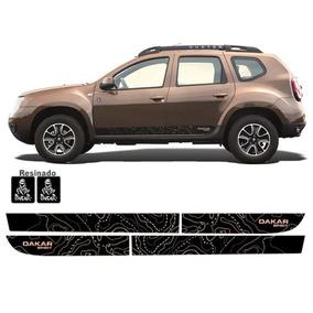 Kit Adesivo Lateral Renault Duster Dakar 10 11 12 13 14 15