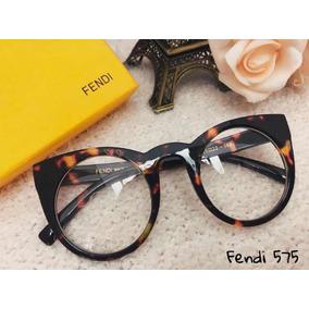 Armação Óculos De Grau Fendi Feminino - Óculos no Mercado Livre Brasil 06a8b8b44e