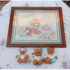 Cuadro Decorativo Infantil Con Accesorios De Pared