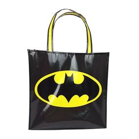 Sacola Polipropileno - Dc Comics - Logo Do Batman - 40x40x15