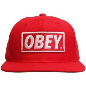 Boné Aba Reta Snapback Bordado Obey