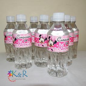 14 Etiquetas Para Botellas Cumpleaños Baby Shower Nacimiento
