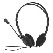 Audifono Acteck Basic Hi-fi Con Microfono Am-370 Negro Muaa-