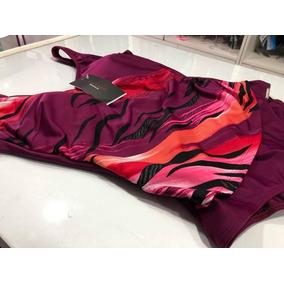 Malla Entera Soleado Estampada Diagonal Tazas Art 3652 Lyc