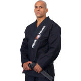 Kimono Jiu Jitsu Beginner Preto Red Nose