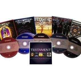 Testament Original Album Series The Legacy Gathering 5 Cds