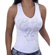 Regata Pit Bull Pitbull Jeans Feminina  26115 Juju Salimeni