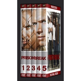 Box Prison Break 1ª A 5ª Temporada Dublada (box 26 Discos)