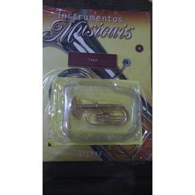 Miniatura Instrumentos Musicais Tuba Edição 4 Salvat.