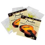 Set 2 Juegos Cuerda Nylon Clásica Acústica Fender Bakanisimo