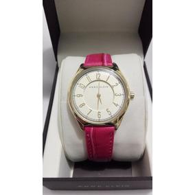 Reloj Dama Anne Klein Original Correa Rosa Piel