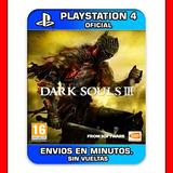 Dark Souls 3 Ps4 Digital Elegi Reputacion Envios En Min