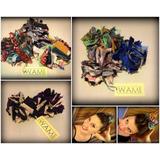 Colitas De Tela - Coleritos Multicolores- Wami