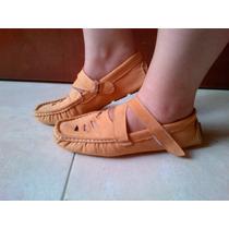 Bellos Zapatos Dama Mocasines Anat Casuales Gamuza40
