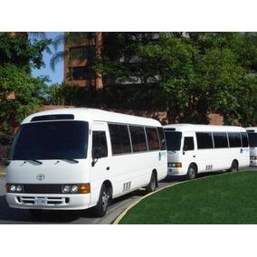 Servicio Autobuses Coaster Vans Transporte Ejecutivo Viajes