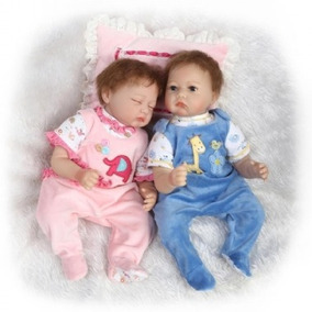 Boneca Reborn Gemeos Menino E Menina