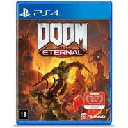 Doom Eternal Ps4 Ps5  Mídia Física Novo Lacrado Nfe