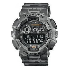 Relogio Casio G-shock Gd-120 Camuflado Wr-200 5 Al Hora Mund