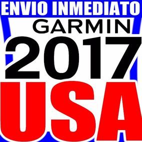 Mapa Norte America Usa Gps Garmin * Versión 2017 *inmediato