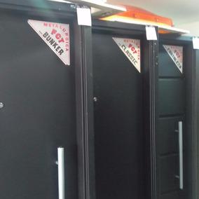Puerta De Seguridad Fortaleza Chapa18 80x200 -3defebrero Srl