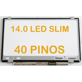 Tela 14.0 Led Slim Para Positivo Premium Xsi7150 40 Pinos