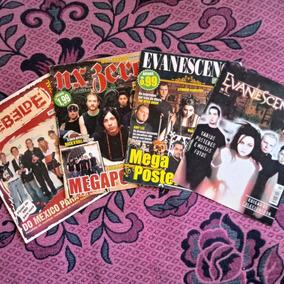 Pôsters E Revistas Rbd, Evanescence E Nx Zero -frete Incluso