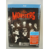 Box Blu-ray Monsters The Essential Collection Original Novo