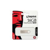 Memorias Kingston 16gb Datatraveler Se9 Aluminio