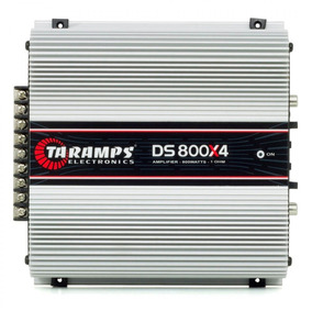 Modulo Amplificador Ts800 X4 800w Rms Rca Taramps Ds800