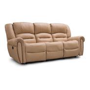 Sofa Reclinable Piel Genuina Oxford - Confortopiel