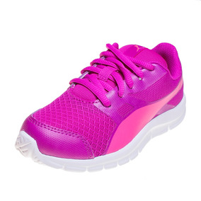 Zapatilla Puma Flexracer Ps Adp Fucsia