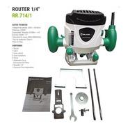 Fresadora Router Rebajador Tupi Carpinteria 1/4 1200w 1.6hp