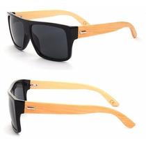 Óculos De Madeira Bambu