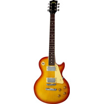 Guitarra S101 Les Paul Sun Star Burst Con Funda Madarozzo