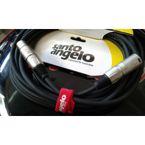Cable Santo Angelo Canon - Canon 6.10m. Ficha Metalica