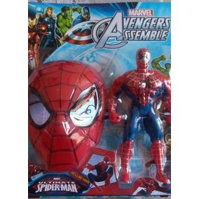Boneco Os Vingadores Homem Aranha Musical + Mascara Marvel
