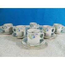 Juego 5 Tazas Para Cafe Para Te Porcelana Tsuji