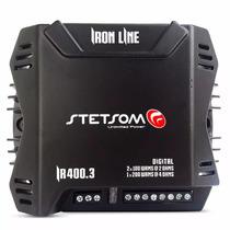 Módulo Stetsom Ir400.3 400w Rms 3 Canais Digital Mono/stereo
