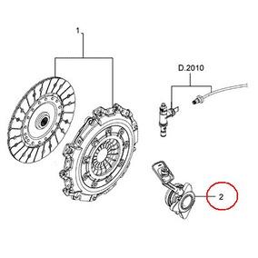 Cilindro Hidraulico Auxiliar Embreagem Ve Ecosport-2013-2015