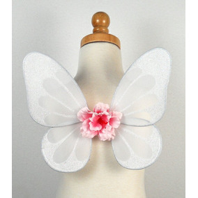 Alas De Mariposa O Hada Blancas Para Disfraz Angel Comunion