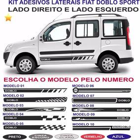 Acessorios Fiat Doblo Cargo Adesivos Laterais Faixas