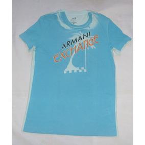 2ca7cd8690f7a Camisetas Armani Exchange Clon - Ropa y Accesorios Azul claro en ...